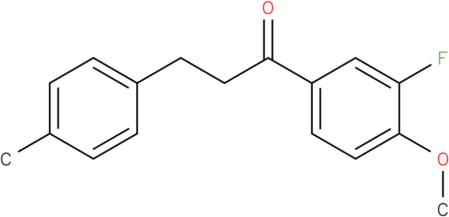 1-(3-Fluoro-4-methoxy-phenyl)-3-p-tolyl-propan-1-one