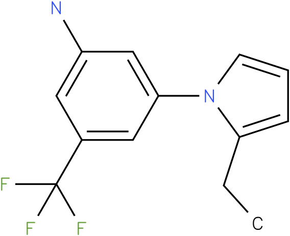 3-(2-Ethyl-pyrrol-1-yl)-5-trifluoromethyl-phenylamine