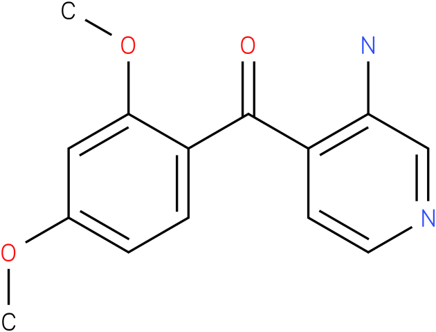 (3-Amino-pyridin-4-yl)-(2,4-dimethoxy-phenyl)-methanone