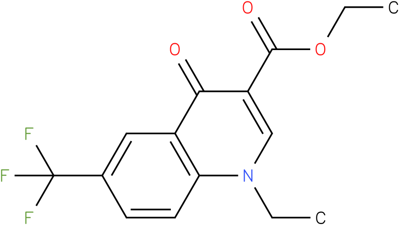 1-Ethyl-4-oxo-6-trifluoromethyl-1,4-dihydro-quinoline-3-carboxylic acid ethyl ester