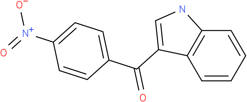 (1H-Indol-3-yl)-(4-nitro-phenyl)-methanone