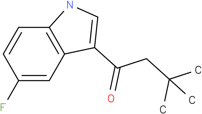 1-(5-Fluoro-1H-indol-3-yl)-3,3-dimethyl-butan-1-one