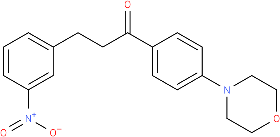 1-(4-Morpholin-4-yl-phenyl)-3-(3-nitro-phenyl)-propan-1-one