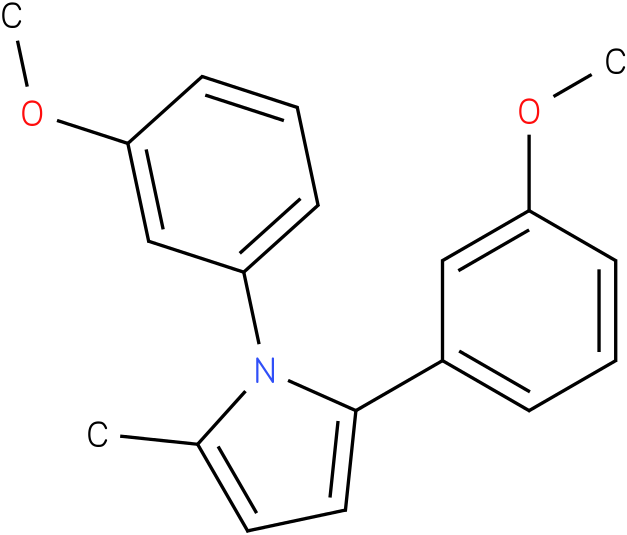 1,2-Bis-(3-methoxy-phenyl)-5-methyl-1H-pyrrole