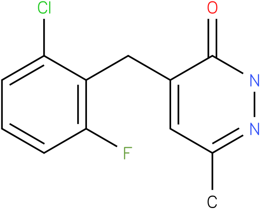 4-(2-Chloro-6-fluoro-benzyl)-6-methyl-2H-pyridazin-3-one