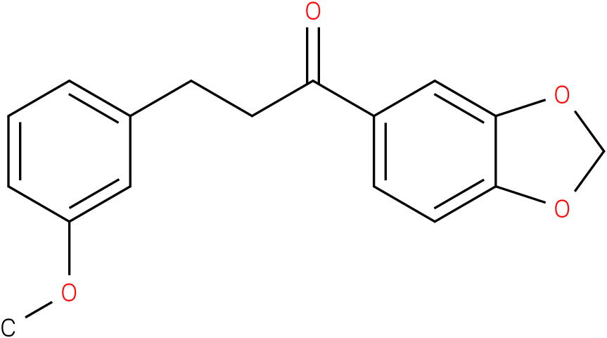 1-Benzo[1,3]dioxol-5-yl-3-(3-methoxy-phenyl)-propan-1-one