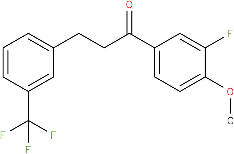 1-(3-Fluoro-4-methoxy-phenyl)-3-(3-trifluoromethyl-phenyl)-propan-1-one