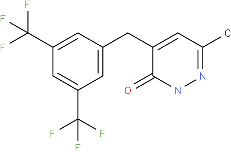 4-(3,5-Bis-trifluoromethyl-benzyl)-6-methyl-2H-pyridazin-3-one