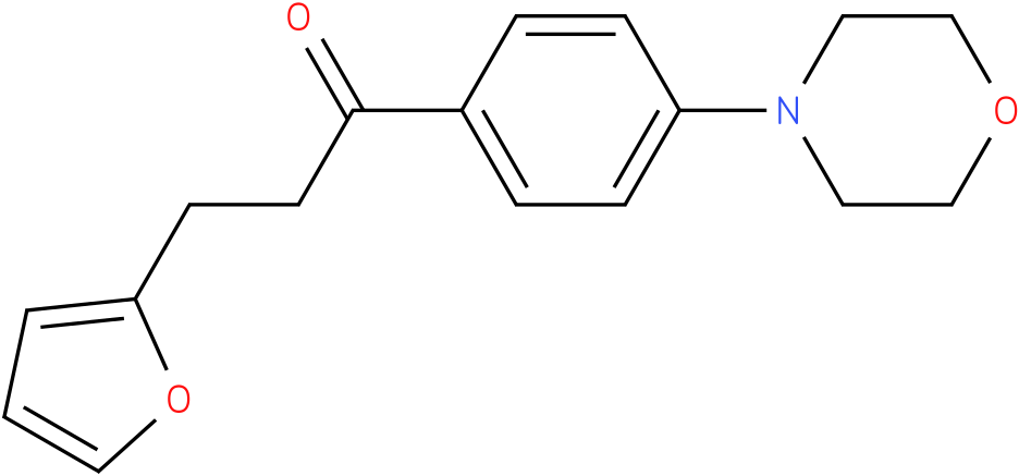 3-Furan-2-yl-1-(4-morpholin-4-yl-phenyl)-propan-1-one