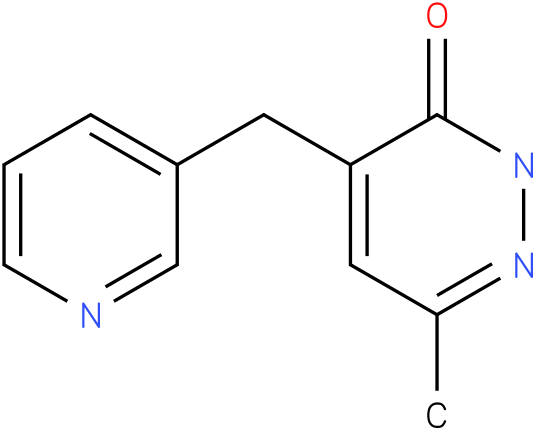 6-Methyl-4-pyridin-3-ylmethyl-2H-pyridazin-3-one