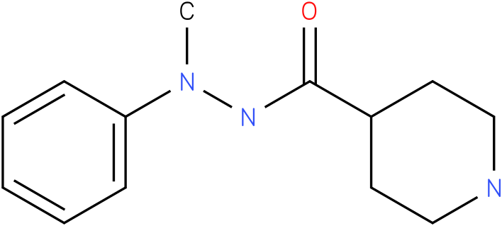 Piperidine-4-carboxylic acid N'-methyl-N'-phenyl-hydrazide