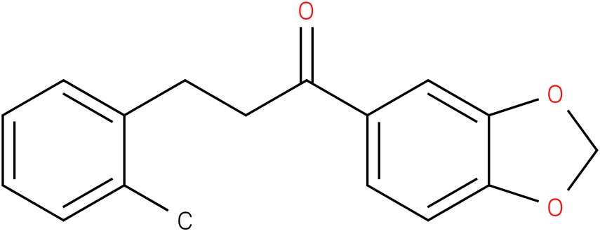 1-Benzo[1,3]dioxol-5-yl-3-o-tolyl-propan-1-one