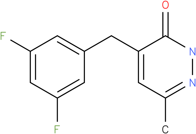 4-(3,5-Difluoro-benzyl)-6-methyl-2H-pyridazin-3-one