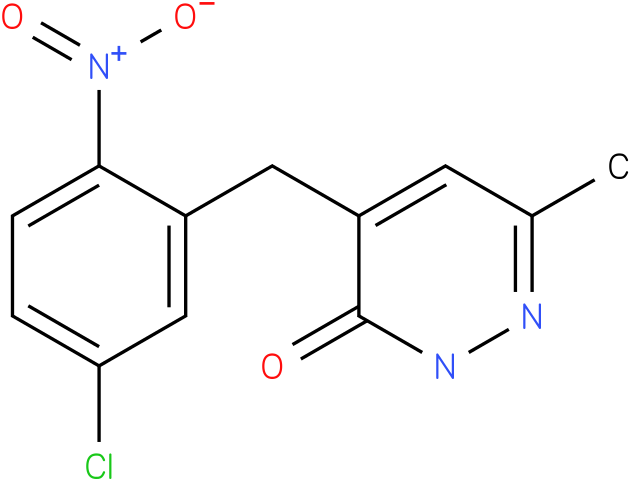 4-(5-Chloro-2-nitro-benzyl)-6-methyl-2H-pyridazin-3-one