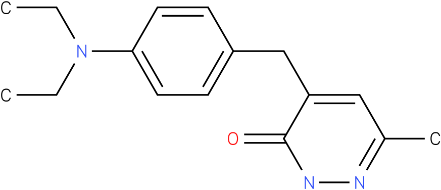 4-(4-Diethylamino-benzyl)-6-methyl-2H-pyridazin-3-one