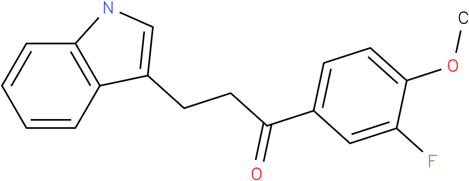 1-(3-Fluoro-4-methoxy-phenyl)-3-(1H-indol-3-yl)-propan-1-one