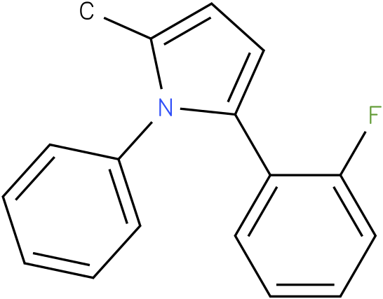 2-(2-Fluoro-phenyl)-5-methyl-1-phenyl-1H-pyrrole