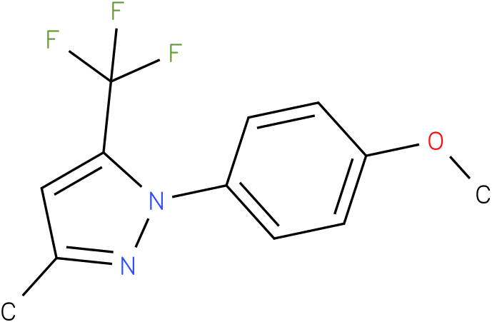1-(4-Methoxy-phenyl)-3-methyl-5-trifluoromethyl-1H-pyrazole