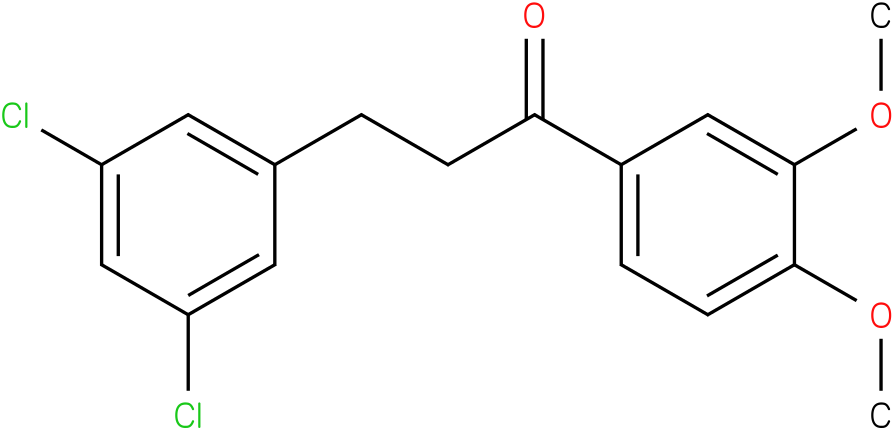 3-(3,5-Dichloro-phenyl)-1-(3,4-dimethoxy-phenyl)-propan-1-one