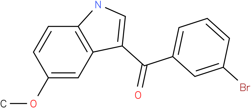 (3-Bromo-phenyl)-(5-methoxy-1H-indol-3-yl)-methanone