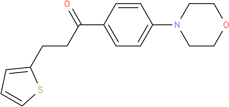 1-(4-Morpholin-4-yl-phenyl)-3-thiophen-2-yl-propan-1-one