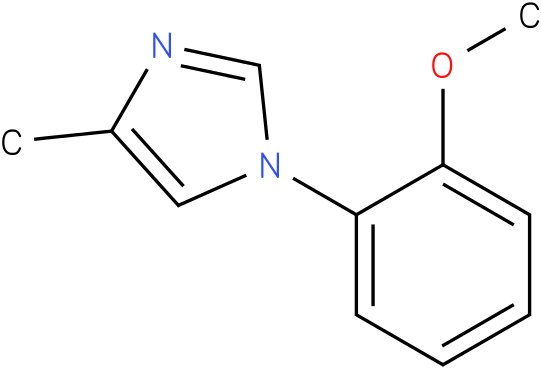1-(2-Methoxy-phenyl)-4-methyl-1H-imidazole