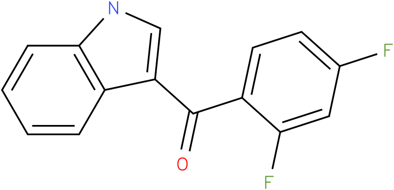 (2,4-Difluoro-phenyl)-(1H-indol-3-yl)-methanone