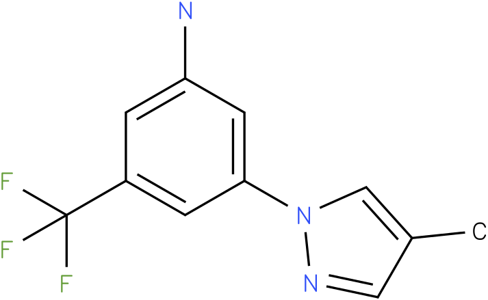 3-(4-Methyl-pyrazol-1-yl)-5-trifluoromethyl-phenylamine