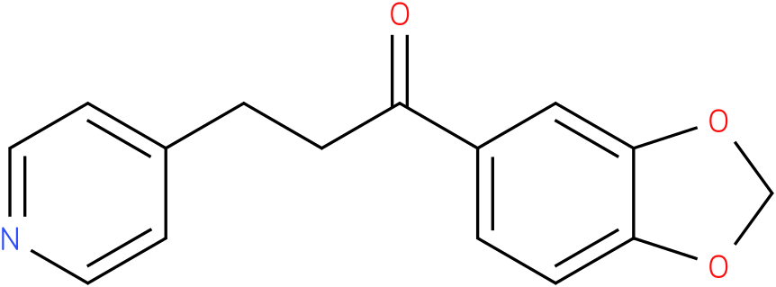 1-Benzo[1,3]dioxol-5-yl-3-pyridin-4-yl-propan-1-one
