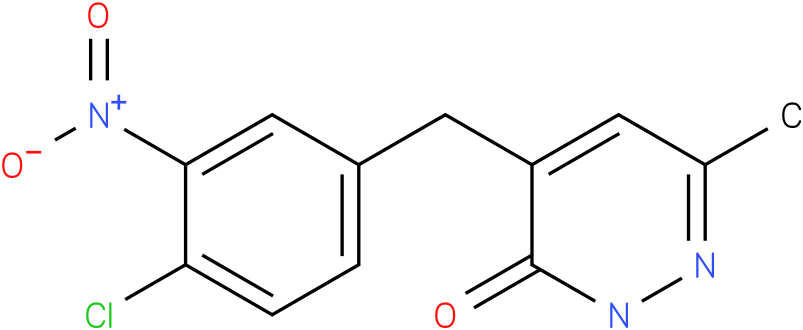 4-(4-Chloro-3-nitro-benzyl)-6-methyl-2H-pyridazin-3-one