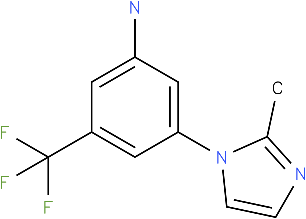 3-(2-Methyl-imidazol-1-yl)-5-trifluoromethyl-phenylamine