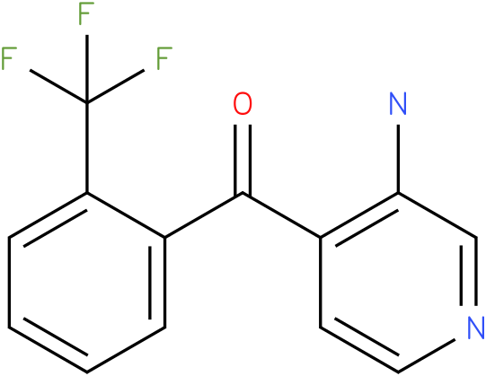 (3-Amino-pyridin-4-yl)-(2-trifluoromethyl-phenyl)-methanone