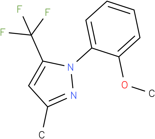 1-(2-Methoxy-phenyl)-3-methyl-5-trifluoromethyl-1H-pyrazole