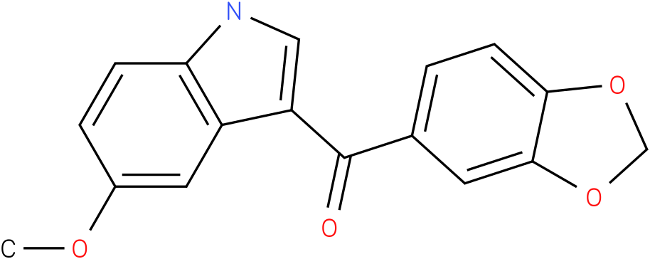Benzo[1,3]dioxol-5-yl-(5-methoxy-1H-indol-3-yl)-methanone