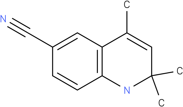 2,2,4-Trimethyl-1,2-dihydro-quinoline-6-carbonitrile