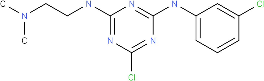 6-Chloro-N-(3-chloro-phenyl)-N'-(2-dimethylamino-ethyl)-[1,3,5]triazine-2,4-diamine