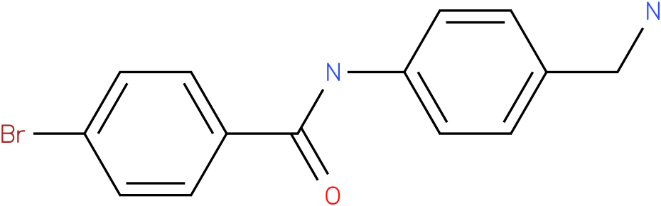 N-(4-Aminomethyl-phenyl)-4-bromo-benzamide