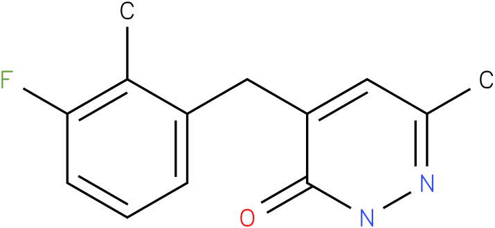 4-(3-Fluoro-2-methyl-benzyl)-6-methyl-2H-pyridazin-3-one