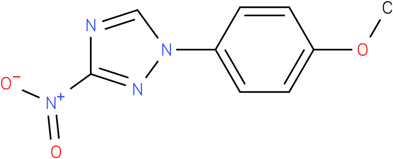 1-(4-Methoxy-phenyl)-3-nitro-1H-[1,2,4]triazole