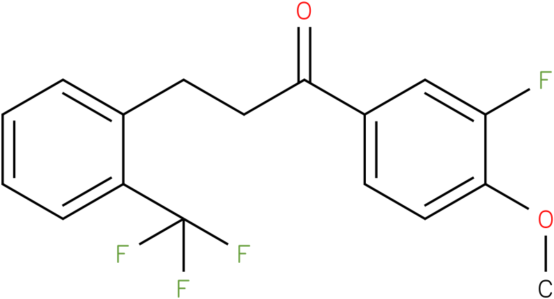 1-(3-Fluoro-4-methoxy-phenyl)-3-(2-trifluoromethyl-phenyl)-propan-1-one