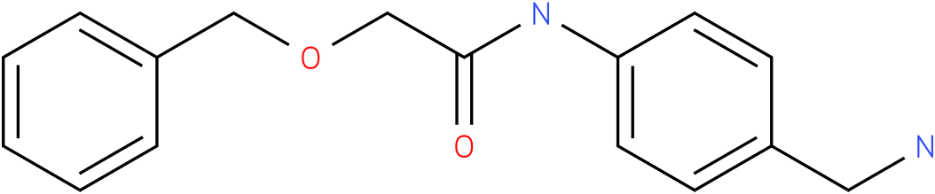 N-(4-Aminomethyl-phenyl)-2-benzyloxy-acetamide