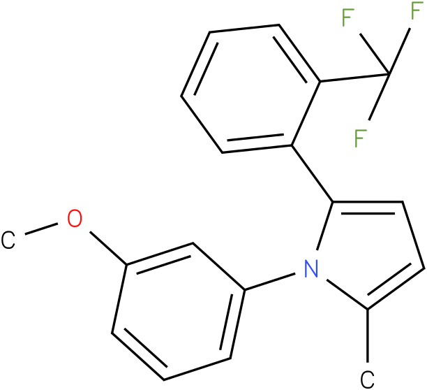 1-(3-Methoxy-phenyl)-2-methyl-5-(2-trifluoromethyl-phenyl)-1H-pyrrole