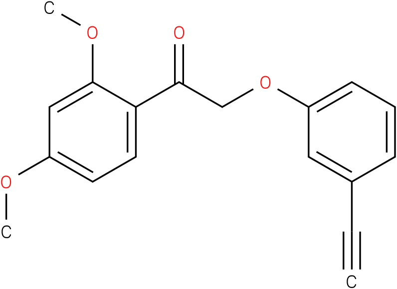 1-(2,4-Dimethoxy-phenyl)-2-(3-ethynyl-phenoxy)-ethanone