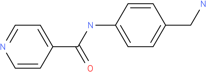 N-(4-Aminomethyl-phenyl)-isonicotinamide