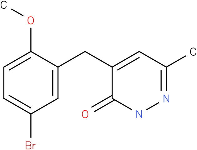 4-(5-Bromo-2-methoxy-benzyl)-6-methyl-2H-pyridazin-3-one