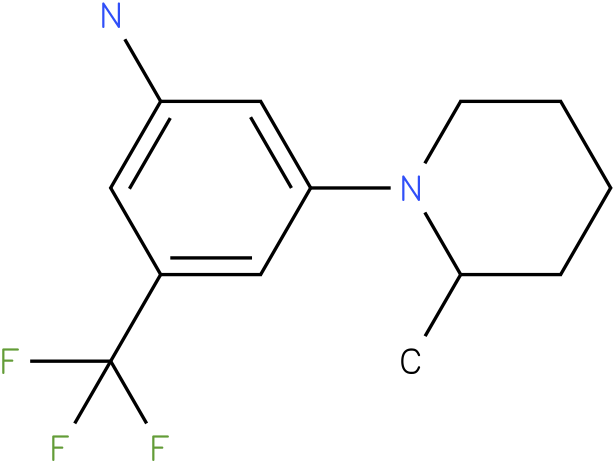 3-(2-Methyl-piperidin-1-yl)-5-trifluoromethyl-phenylamine