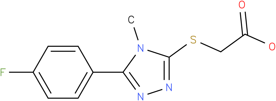 [5-(4-Fluoro-phenyl)-4-methyl-4H-[1,2,4]triazol-3-ylsulfanyl]-acetic acid