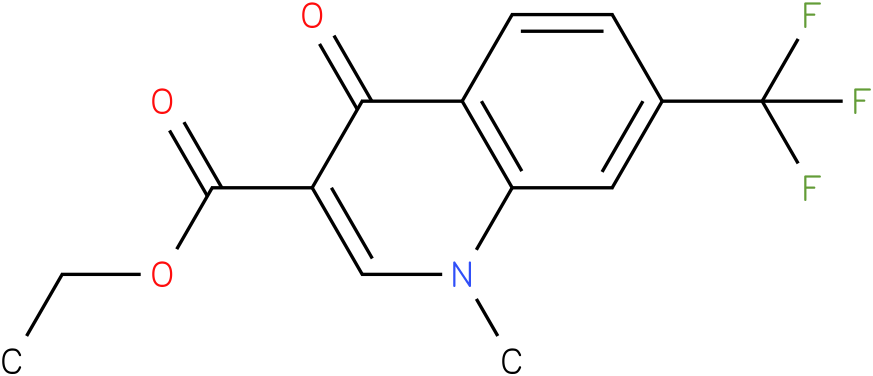 1-Methyl-4-oxo-7-trifluoromethyl-1,4-dihydro-quinoline-3-carboxylic acid ethyl ester