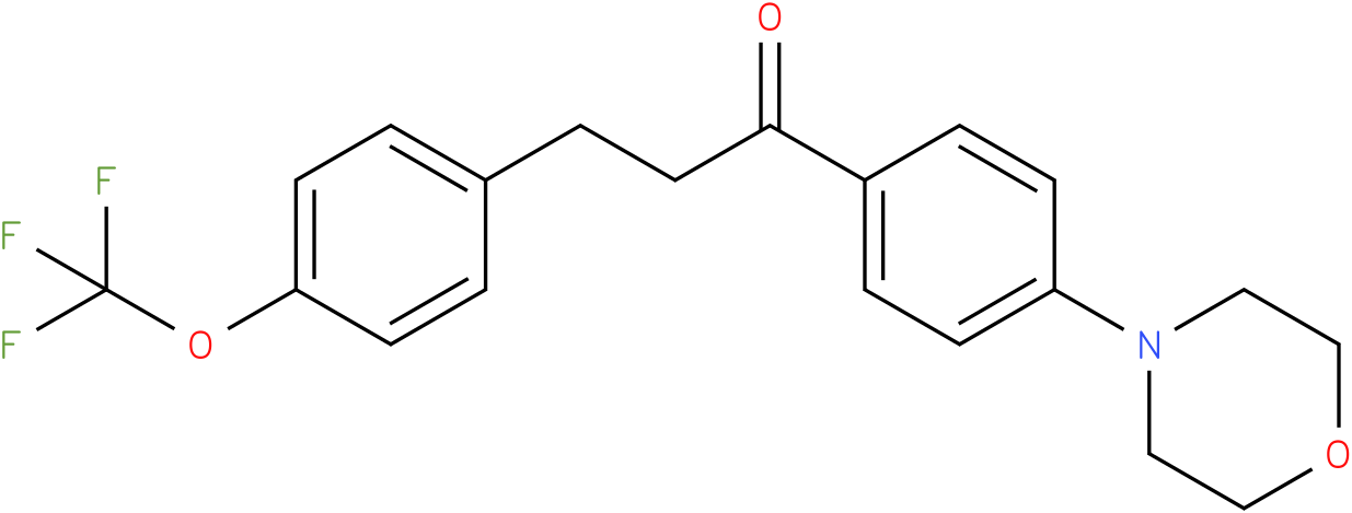 1-(4-Morpholin-4-yl-phenyl)-3-(4-trifluoromethoxy-phenyl)-propan-1-one