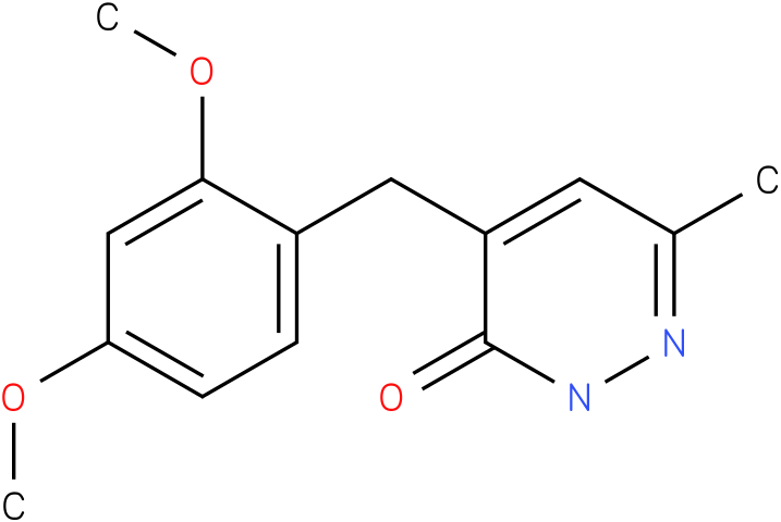 4-(2,4-Dimethoxy-benzyl)-6-methyl-2H-pyridazin-3-one
